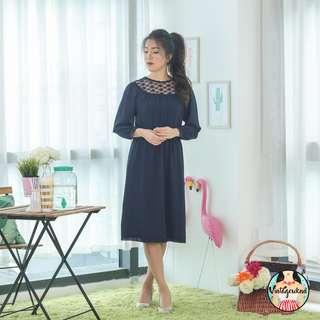 🍿 Vintage Midi Dress VD1215