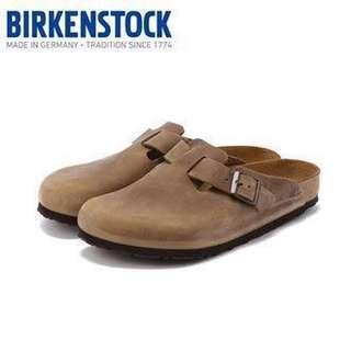 Birkenstock slippers (leather)