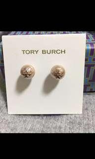 Tory Burch Earrings 玫瑰金珍珠耳環