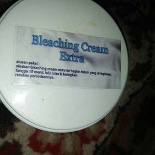 Bleaching cream extra