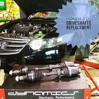 Honda Accord CU2 : Driveshafts Repair