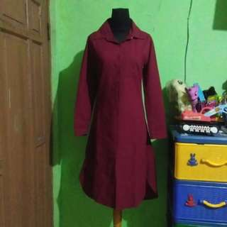 Tunik red maroon #123moveon