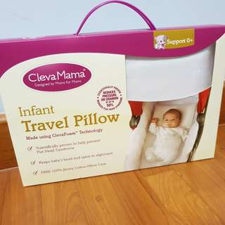 Cleva Mama infant travel pillow