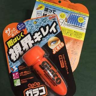 全新 日本免乾燥免雨刷潑水劑