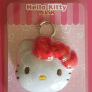 Hello kitty plushie ezlink charm