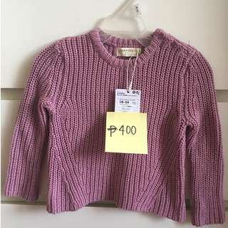Mango Knitted Long Sleeve Top