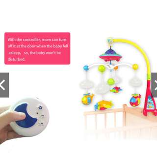 Baby Bed Ring Hanging Bell With Remote Controll
