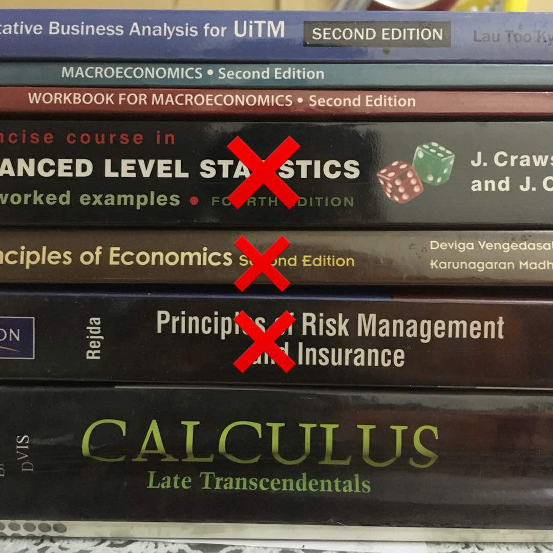 Actuarial Science Book, Textbooks on Carousell