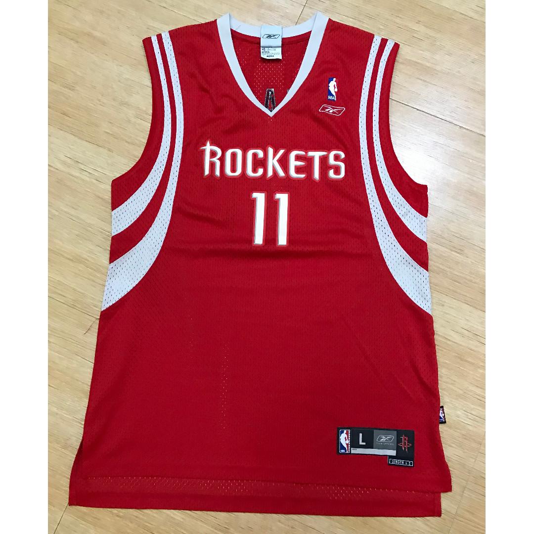 adidas Jersey Rockets Yao #11