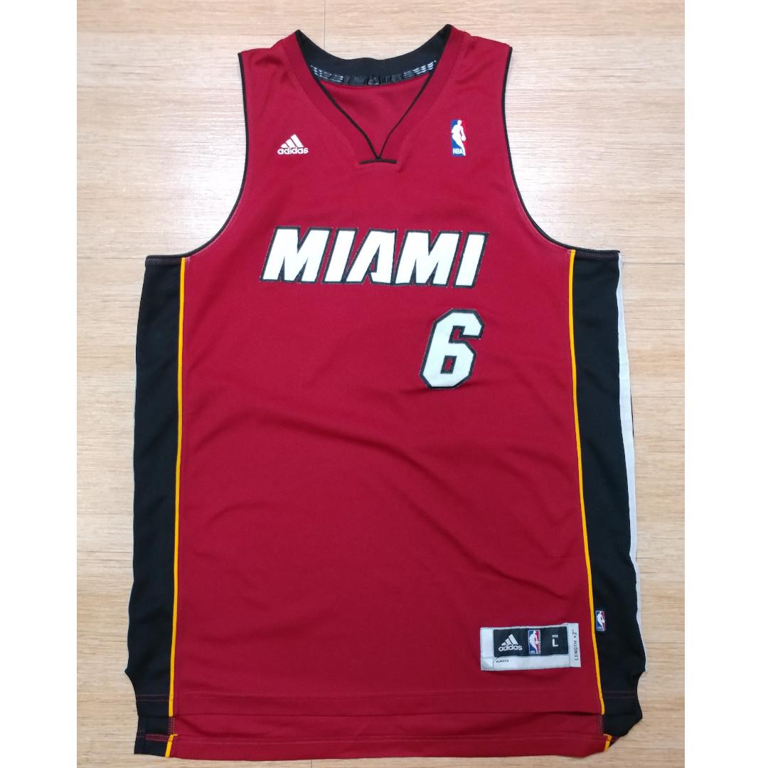 adidas Miami Heat Jersey #6 lebron James