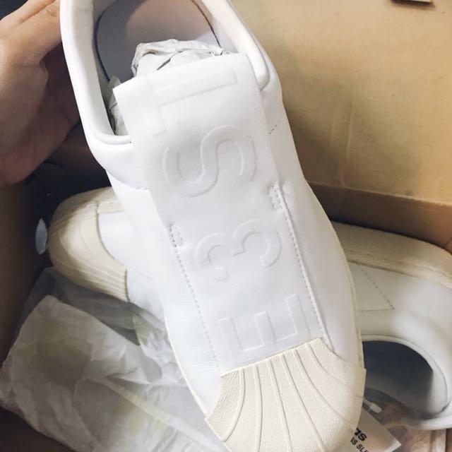 wholesale dealer 92eda 3a5ab Adidas Superstar BW3S Slipon