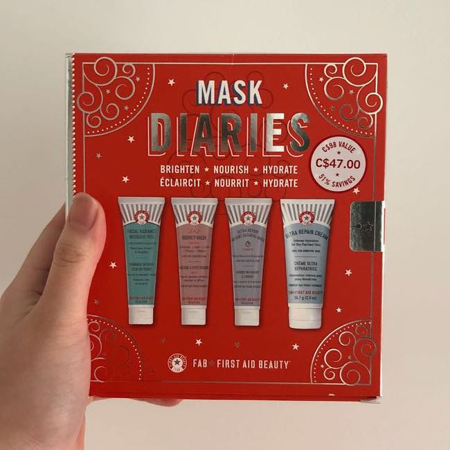 BNIB FAB Mask Diaries