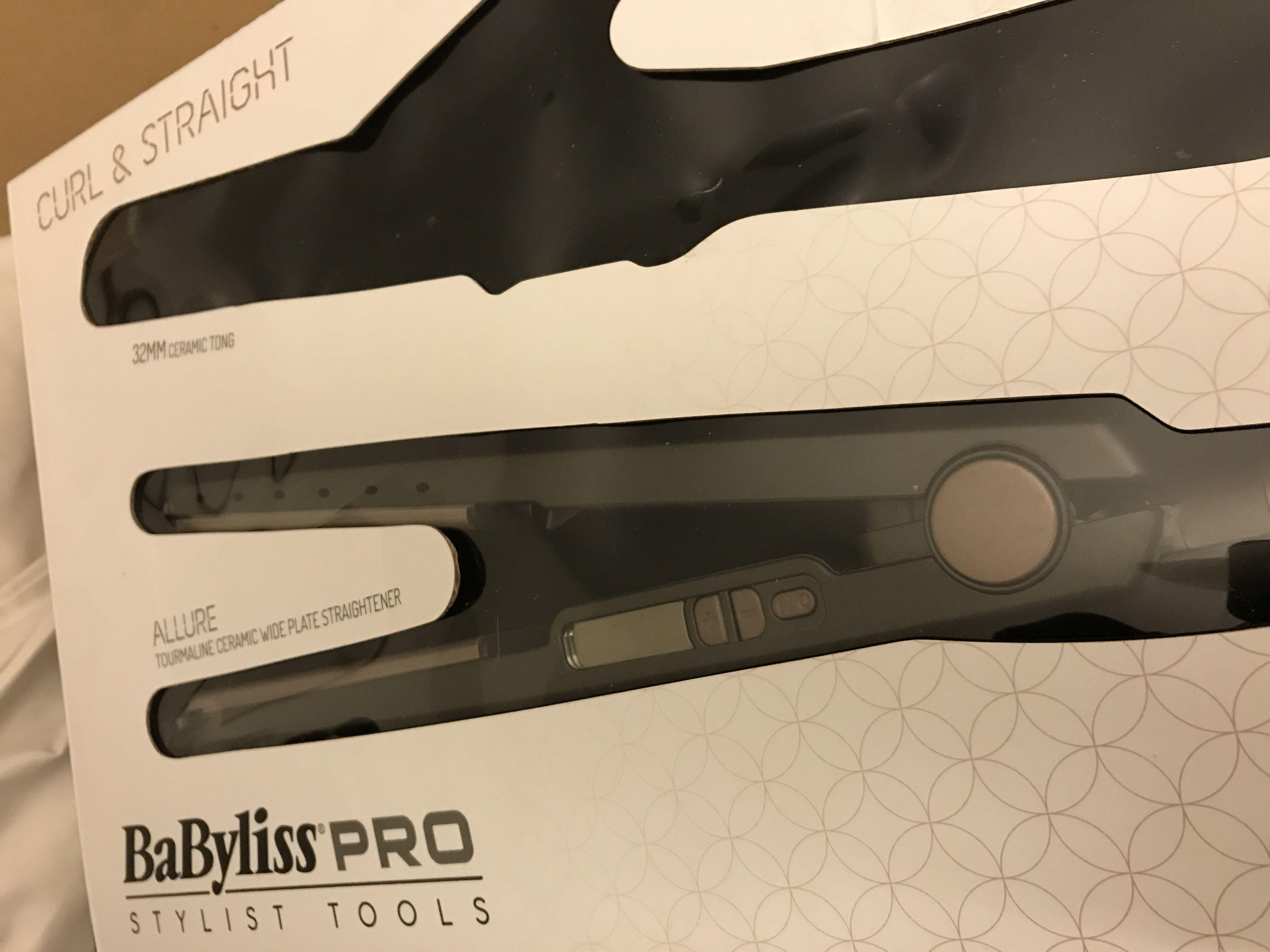 Brand new BaByliss Allure straightener