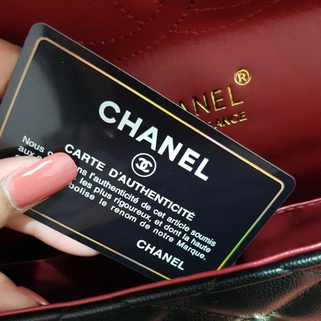 Chanel large maxi quilted bag