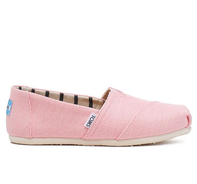 Classic Pink TOMS