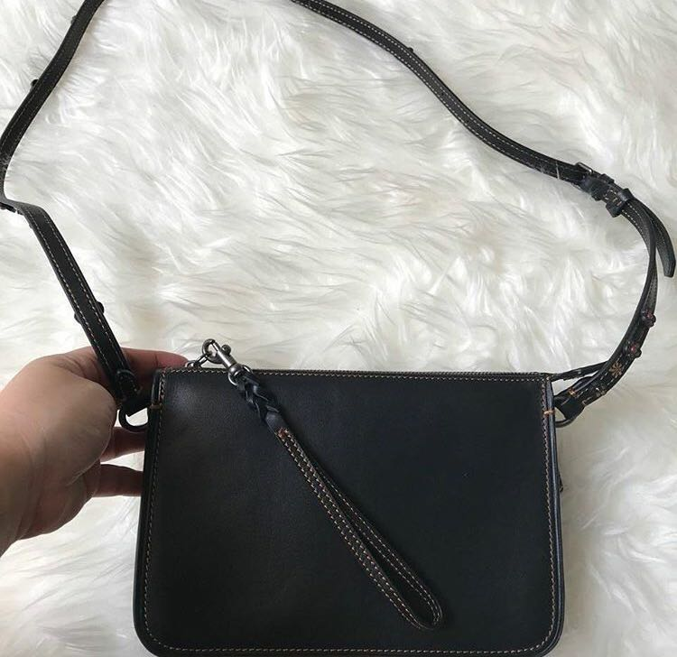 Coach soho leather bag