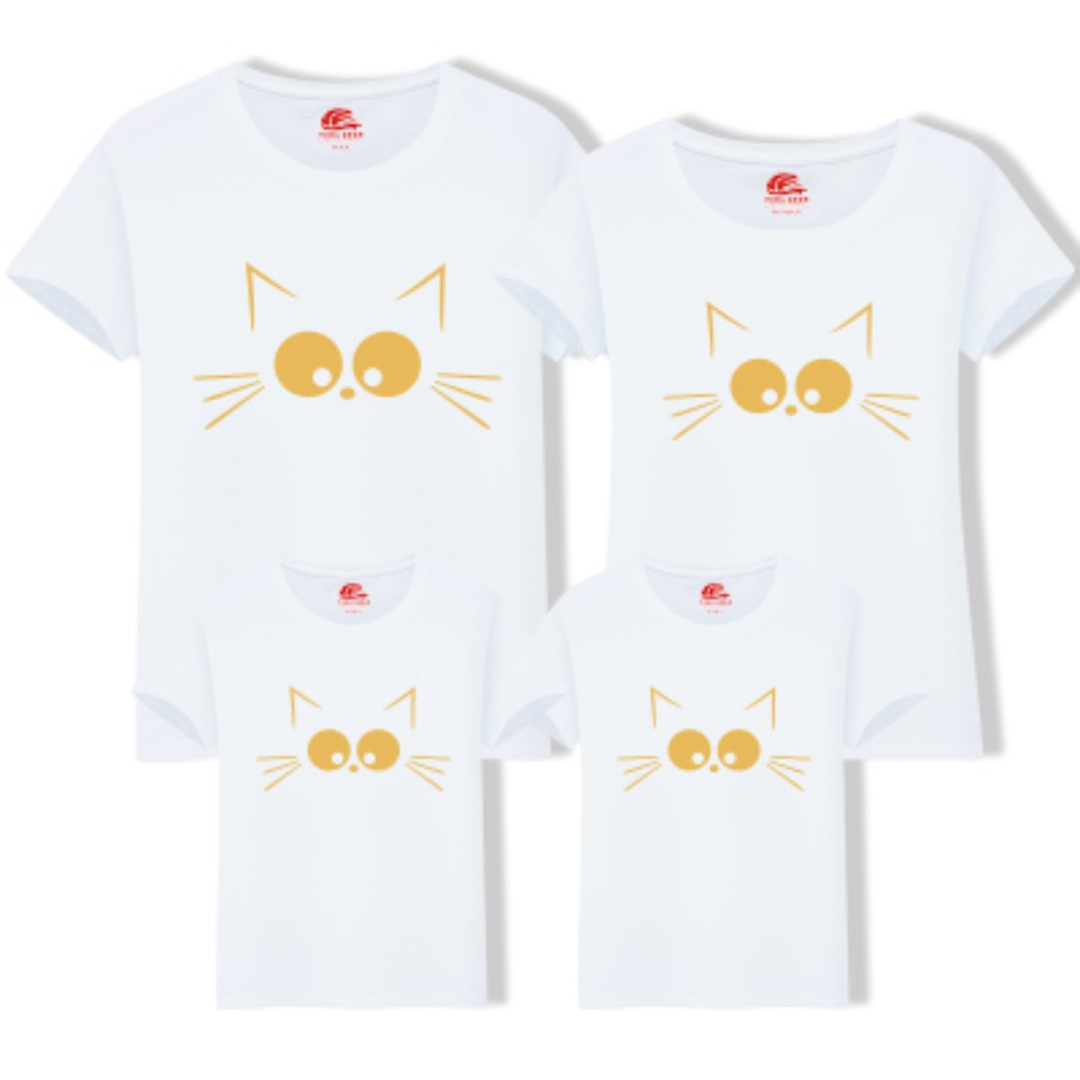 970c9cb2bd Couple / Family Matching Wear Printed Tees / T-Shirts / Tops / Clothes on  Carousell
