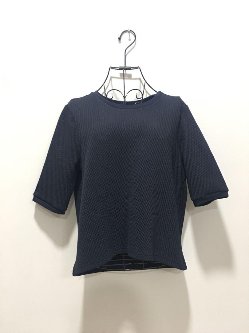 ❤️DARK BLUE Crop Top