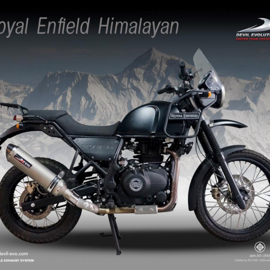 Devil Exhaust Systems Singapore Royal Enfield Himalayan Ready Stock Promo Do Not Pm Kindly Call Us Kindly Follow Us