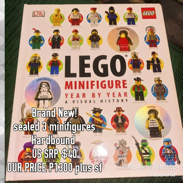 DK hardbound book bought from USA🇺🇸 LEGO Minifigure Year by Year A Visual History