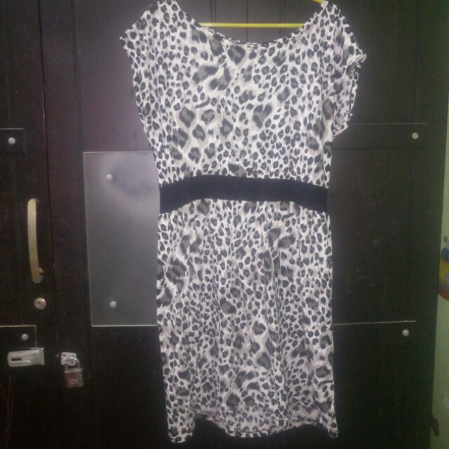 Dress Sabrina loreng