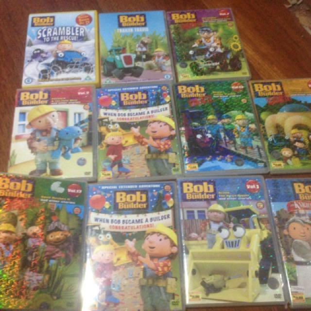 Dvd Original Bob The Builder