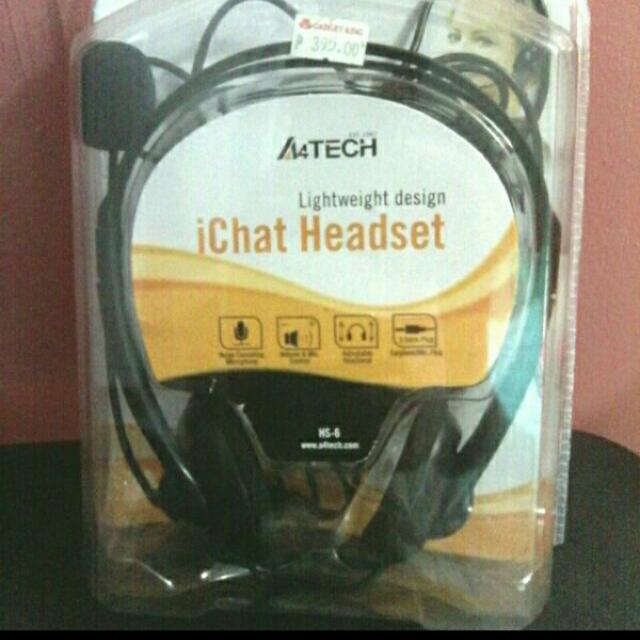 Headset W/ Noise Cancellation Feauture