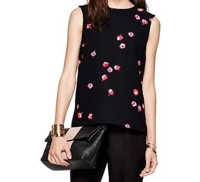 Kate Spade - Falling Florals Sleeveless Blouse Top - Size 4