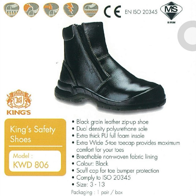 King's KWD 806 Safety Shoe