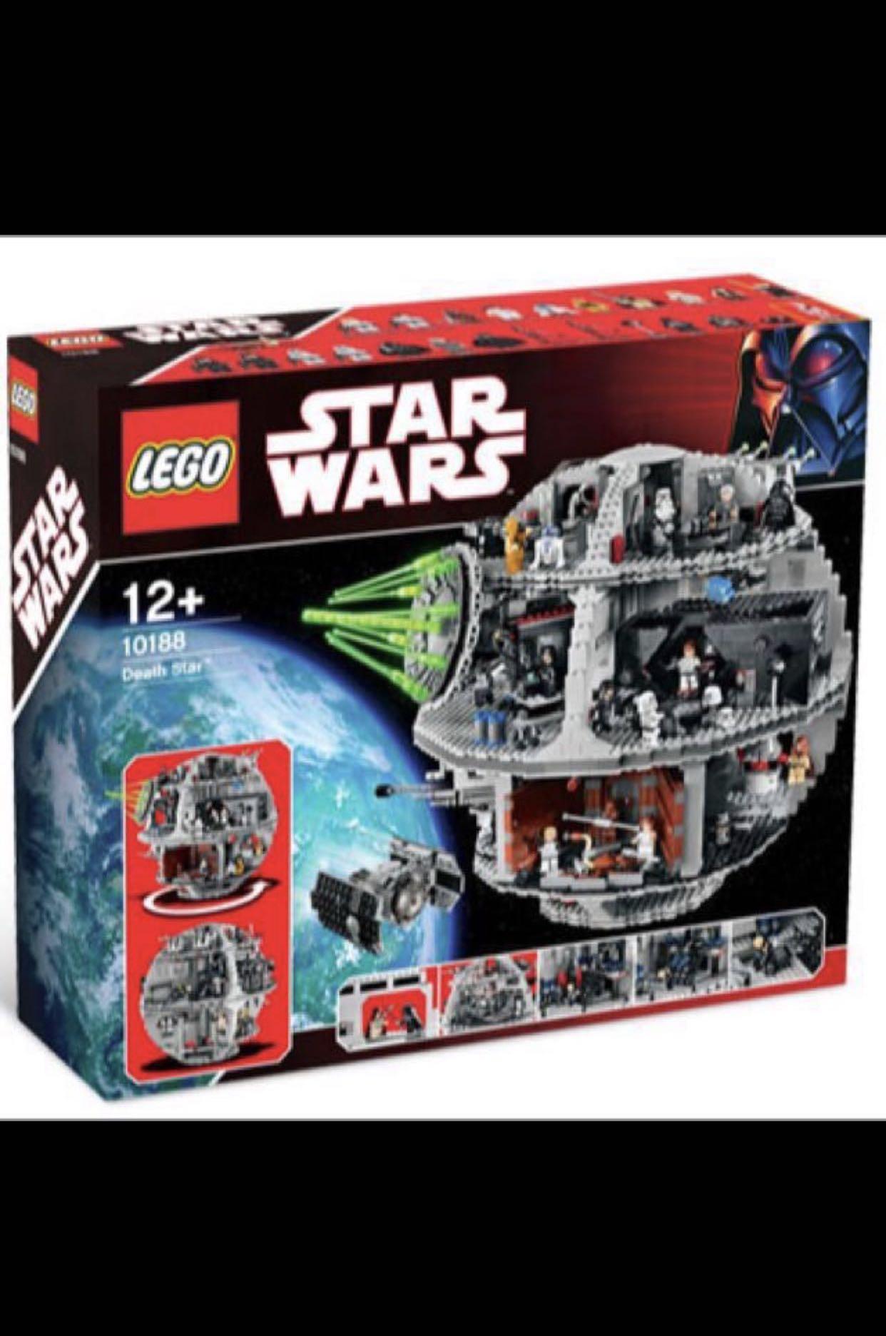 Lego 10188 Star Wars Death Star Toys Games Bricks Figurines On