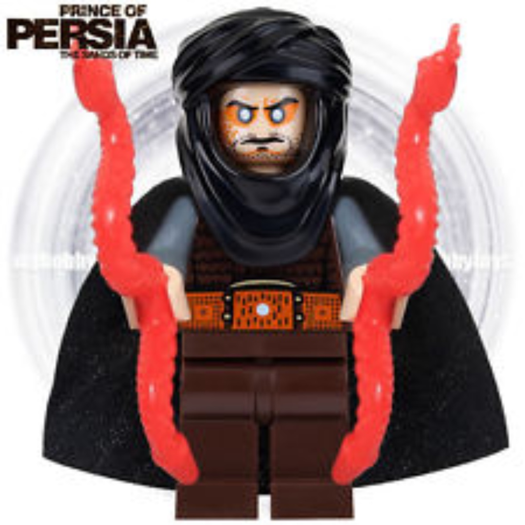 Hassansin Leader Neu Lego Prince of Persia Zolm