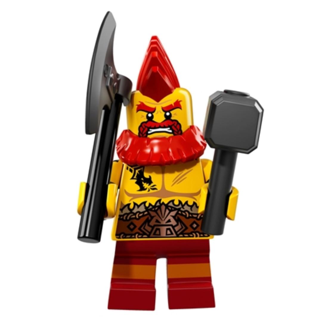 LEGO Series 17 Minifigures - Battle Dwarf