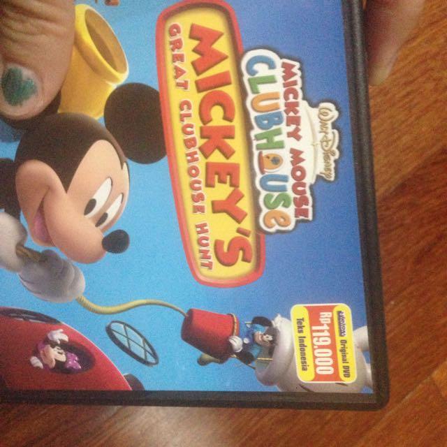 Mickey Mouse dvd Original