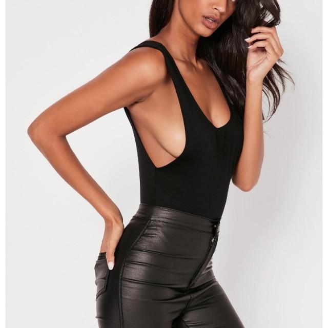 Missguided black bodysuit
