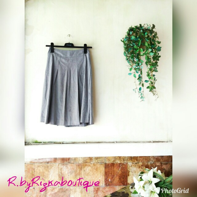 Nample Grey Rampel Skirt
