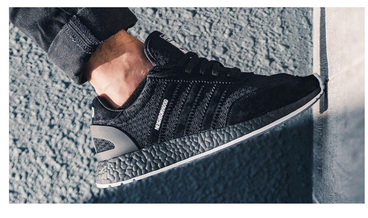 separation shoes 365f8 156aa NEIGHBORHOOD X ADIDAS INIKI RUNNER, Men's Fashion, Footwear ...