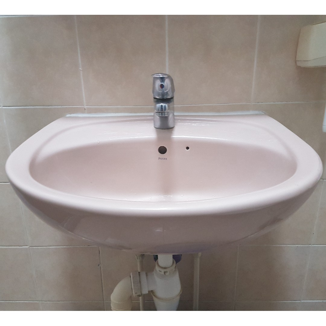 RESERVED) New Basin Bathroom Toilet, Home Appliances on Carousell
