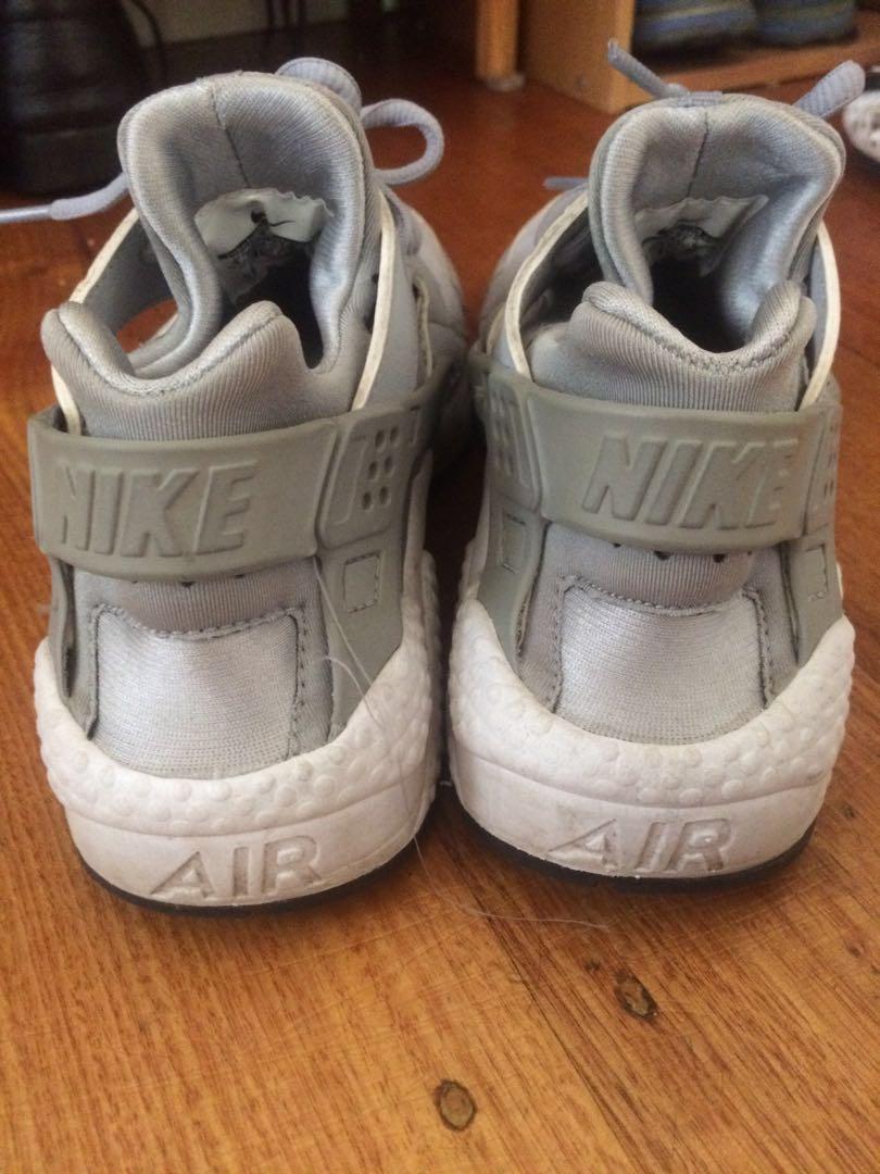 Nike Air grey huarache sneakers