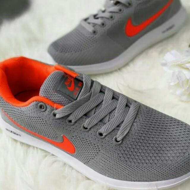 Nike zoom v2 grey orange, Women's