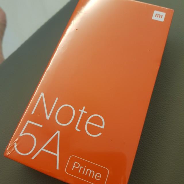 Note 5A Prime redmi