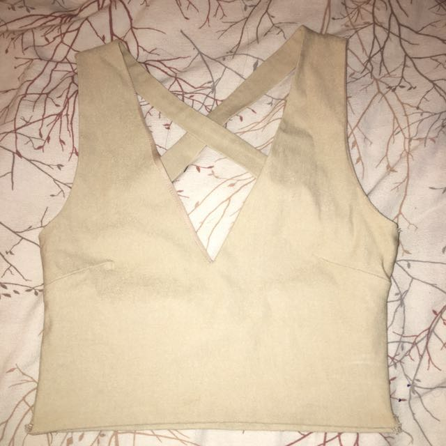 Nude M By Mendocino Crop Top
