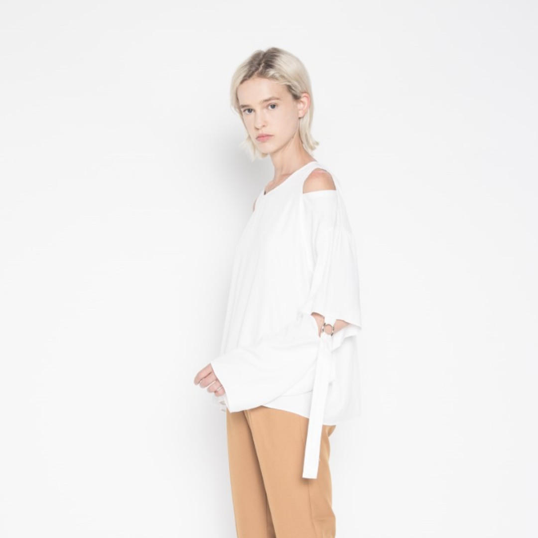 Oak + Fort Blouse (rare sample sale item)