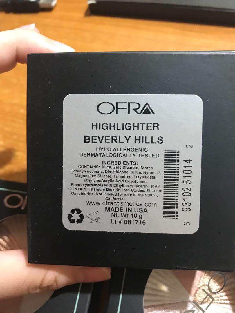 OFRA Highlighter beverly hills