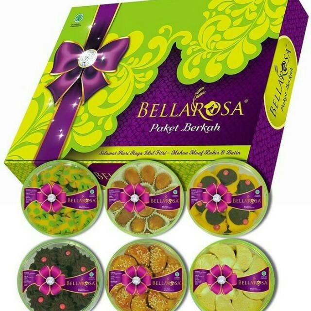Paket Kue Lebaran Bellarosa Berkah, Food & Drinks, Baked Goods on Carousell