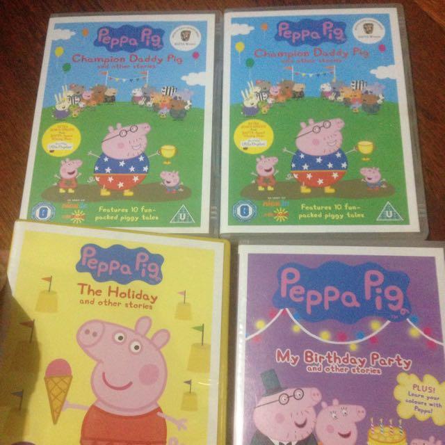 Peppa Pig Dvd Movie Original