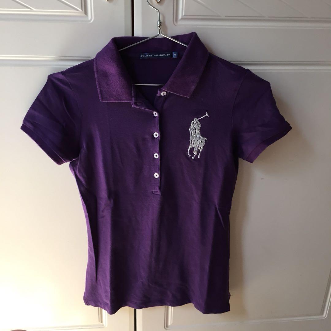 POLO shirt ungu