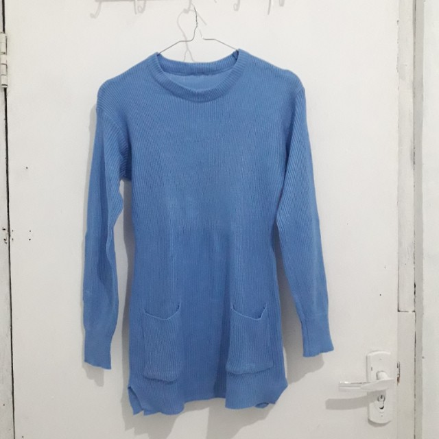 Preloved Sweater Pocket Rajut