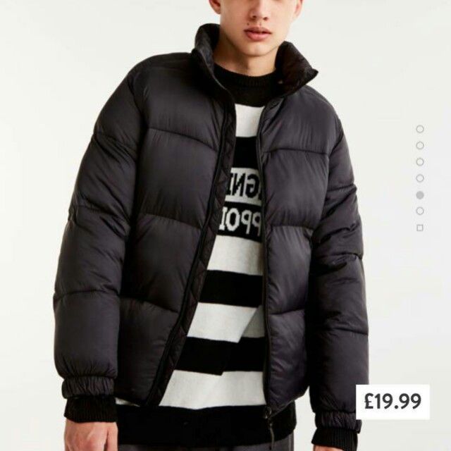 Pull & Bear Puffer Padded Jacket
