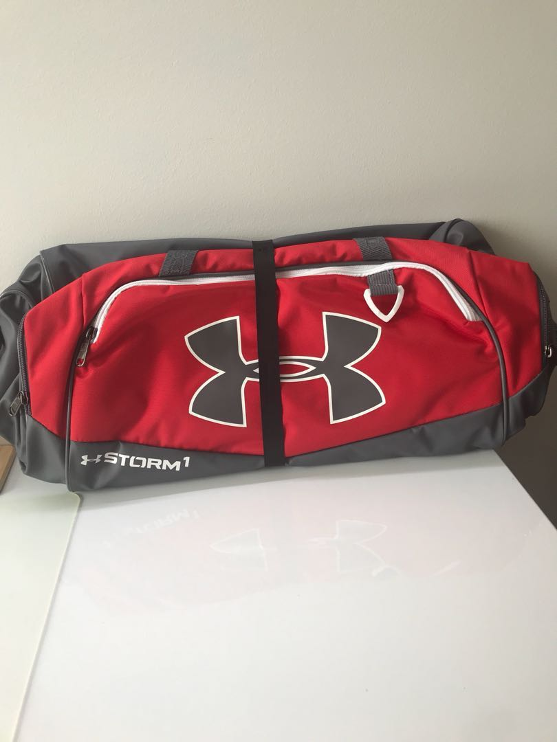 Red Under Armour STORM 1 Duffel Bag 28f79ab102a7b