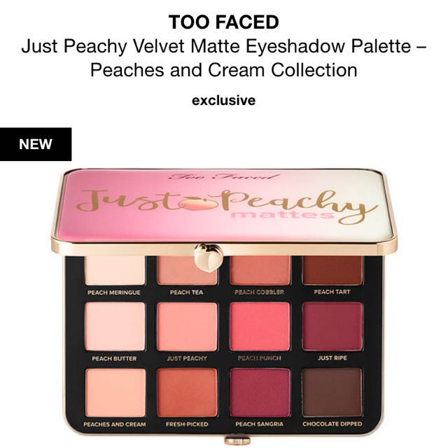 REDUCED🚨 Too Faced Eyeshadow Palette
